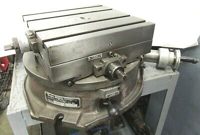 Troyke 12 X 12 Horizontal Xy Axis Cross Slide Rotary Table - Dmt-15