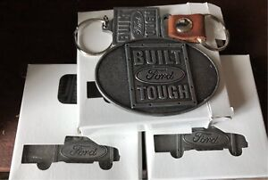 Ford Key chain and belt buckle