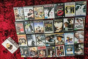 28 Old Movie DVDs Spring Hill Brisbane North East Preview