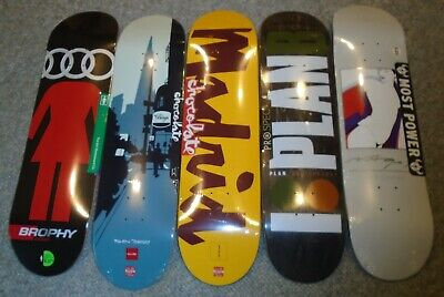 8.37 Girl 8.25 Chocolate 8.25 Plan B 8.125 Darkstar skateboard decks sale