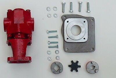 Oil Transfer Pump Kit Gas Powered Gear Pump 24 Gpm Biodiesel Oil Waste Oil