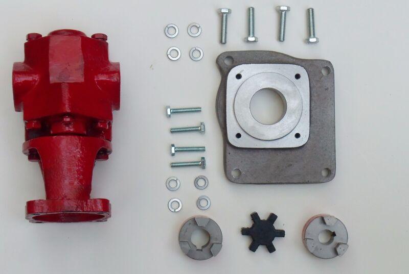Gas Powered 24 GPM WVO Pump Oil transfer Gear Pump Kit US Filtermaxx