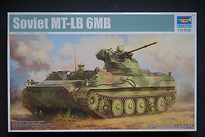 MT-LB 6MB Modellbausatz 1/35 Trumpeter 05580 ()