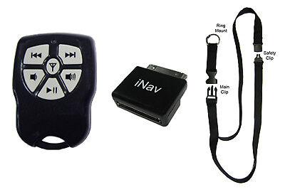 iNav Boss V2 wireless remote control with Lanyard for iPod, Nano, iPhone Ipod Nano Remote