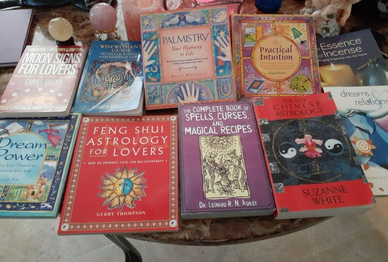 Wicca New Age astrology Book Lot