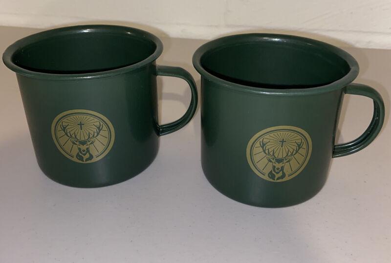 Jagermeister Metal Mule Cup/Mug - Dark Green - Set Of (2)
