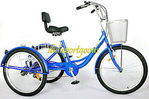 3 Wheel Bikes For Seniors TRICYCLE BICYCLE SPEED