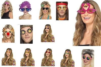 Women's Fancy Dress Fun Glasses Hippy Bride Jumbo Christmas Hen Party Theme Do  ()
