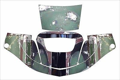 3m Speedglas 9000 9002 X Xf Auto Sw Welding Helmet Wrap Decal Sticker Boba Fett