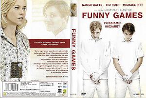 FUNNY-GAMES-2007-dvd-ex-noleggio