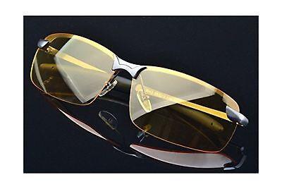 HD Night Vision Glasses Driving Aviator Sunglasses New UV400 Eyewear best