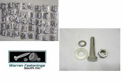 3365pc Grade 5 Coarse Thread Bolt Washer Nut Stop Nut Assortment