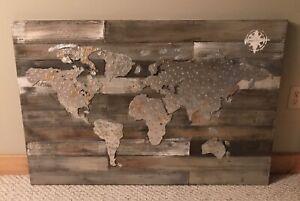 Wall Art - Barnboard/Metal