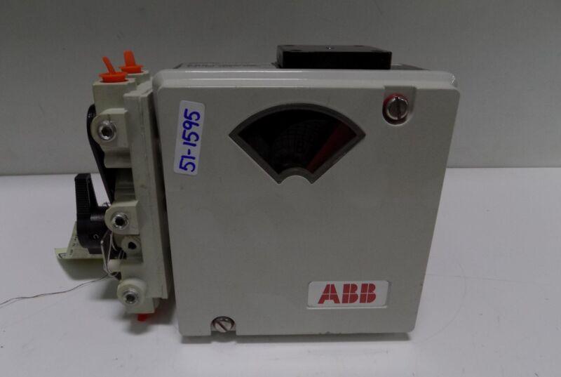ABB 150PSI PNEUMATIC POSITIONER 4-20mA 34VDC POSITION TRANSMITTER AV1121250 NNB