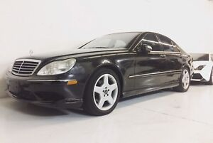 2003 Mercedes Benz S430 AMG Package