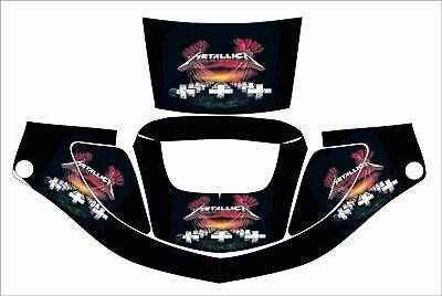 3m Speedglas 9000 9002 X Xf Auto Sw Welding Helmet Wrap Decal Master Of Puppets