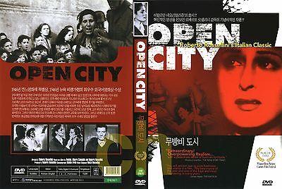 Open City, Roma Citta Aperta (1945) - Roberto Rossellini, Anna Magnani  DVD NEW