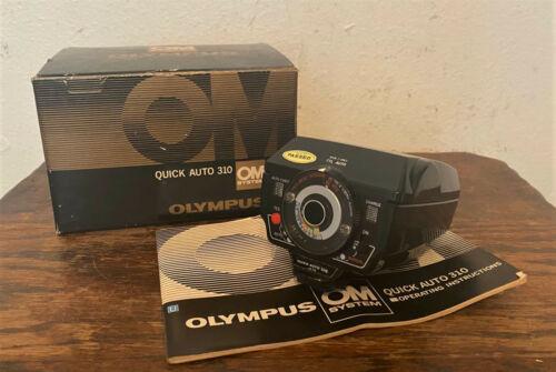Olympus OM Quick Auto 310 Flash - Mint in Box
