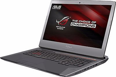 ASUS G752VS-RB71 i7 6700HQ 2.60GHZ 16GB Memory 1TB HDD NVIDIA GTX 1070 8G GDDR5
