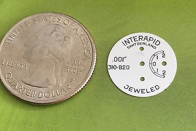 Interapid Inner Dial Face 026413 310 Machine Shop Inspection Repair Indicator