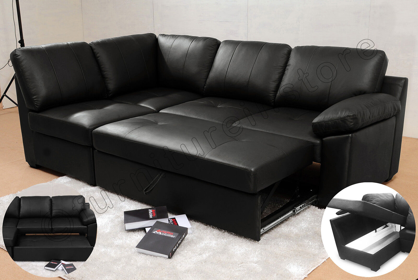Tango Velvet and Fabric Large Corner Group Sofa Suite L ...