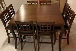 8 Piece Wood Dining table