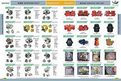 Vrd63 Hydraulic Pump Parts Fits Caterpillar Cat E110b E120b Block Cylinder Valve