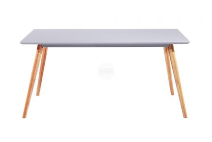 Scandinavian 160cm Dining Table Meals Table Solid Oak Legs Nerang Gold Coast West Preview