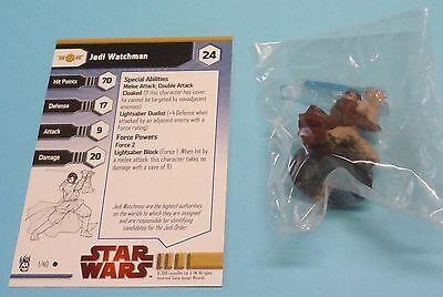 Star Wars Miniatures Dark Times Jedi Watchman #01/40 NEW NIB SWM Minis