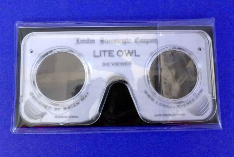 Lite OWL Stereoscope 3D print viewer by Brian May - Must see!