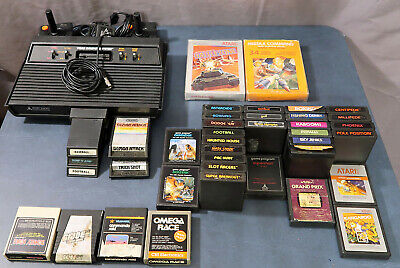Atari 2600 4 Switch Vaser Plus Games Controllers Working