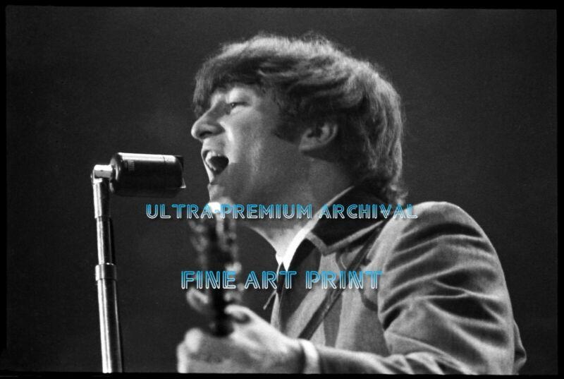 BEATLES 1st US Concert DC 2/11/66 ** HI-RES PRO ARCHIVAL Unseen PHOTO (8.5x11)