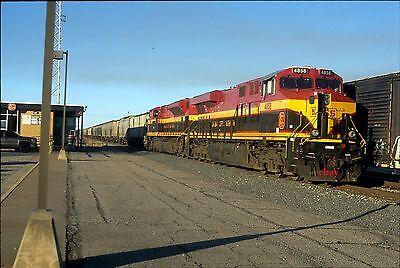 Kansas City Southern 4858   Original Slide   Heavener  Ok