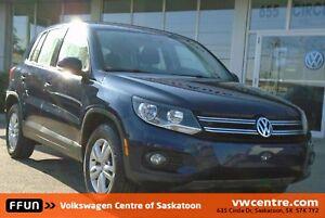 2015 Volkswagen Tiguan Trendline Bluetooth, Satellite Radio,...