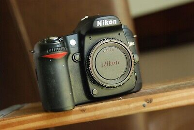 Nikon D80 camera body  with SD card, battery, Charger  Cable Strap, used for sale  Shipping to India