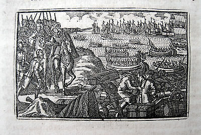 Lissabon 1704: Ankunft Kaiser Karl VI. Chegada de Carlos VI da Austria a Lisboa
