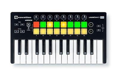 Novation Launchkey Mini MKII Portable MIDI keyboard controller PROAUDIOSTAR--