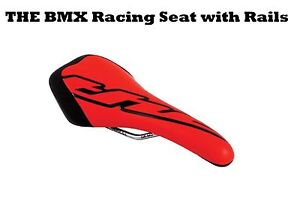 THE-Icon-Flow-Seat-Bicycle-RED-Redline-20-inch-Pro-Racing-BMX-Cruiser-Bike-Race