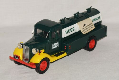 Vintage 1982 First Hess Oil Delivery Truck Toy Bank NIB