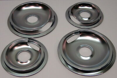 Drip Pans & Rings Set for Vintage GE and Hotpoint Ranges 2/6