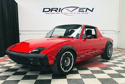 1975 Porsche 914  Renegade 914-8 in Guards Red is wicked fast in So Cal  VIDEO Financing  Pre-Smog