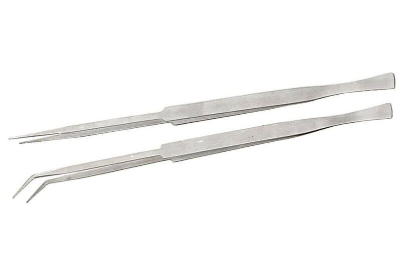 HAWK S9520-12  Tweezers Set 2 Piece Extra Long 12 Inch - New