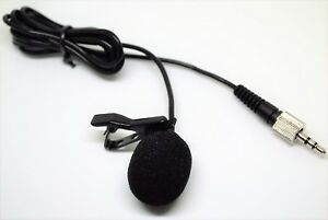 Lavalier Lapel  Microphone Mic for Sennheiser SK100 300 500 G1 G2 G3 Wireless