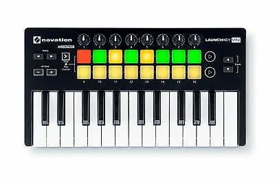 Novation Launchkey Mini MKII Portable MIDI keyboard controller PROAUDIOSTAR--