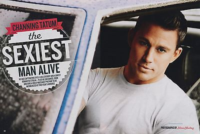 Channing Tatum 8Pg   Cover People Magazine Feature  Clippings
