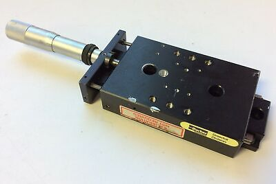 Parker Cr4604dm Manual Positioning Slide 1 Travel 4 X 2-58 Stage Chipped