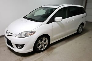 2010 Mazda Mazda5 GT|Htd Leather|Sunroof|Alloys|Warranty|Loaded