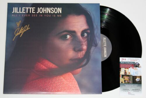 JILLETTE JOHNSON SIGNED ALL I EVER SEE IN YOU IS ME LP VINYL RECORD +JSA COA