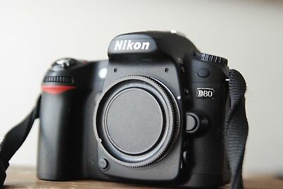 Nikon D80 camera body in Box with SD card, battery, Charger  Cable for sale  Shipping to India
