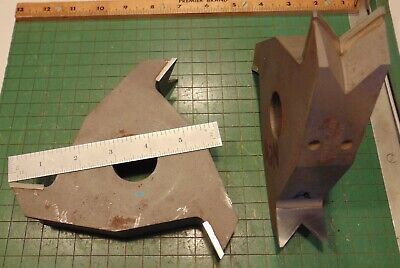 Lot Drake Molding Shaper Cutters25-5507 1-14 Bore Profile Woodworking